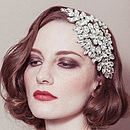 Hattie Diamante Wedding Headband