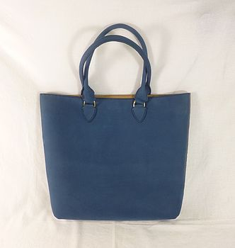 Nubuck Hand Stitched Leather Shopper