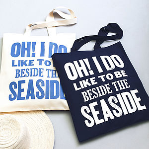 Seaside Tote Bag - women's accessories
