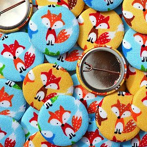''Fox'' Handmade Badges