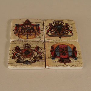 Coats Of Arms Coasters