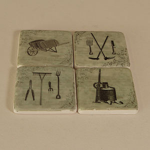 Garden Coasters - placemats & coasters