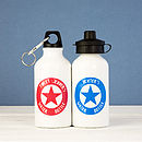 Personalised 400ml water bottle