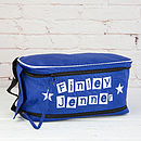 Personalised Block Letter Boot Bag