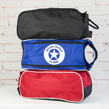 Personalised Star Boot Bag