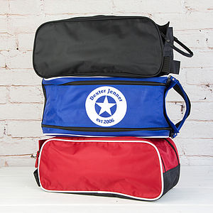 Personalised Star Boot Bag - men's accessories
