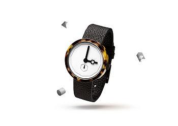 Classic Tortoise Minimalist Watch