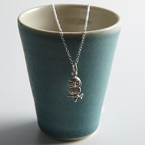 Silver Owl Necklace - necklaces & pendants