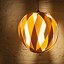 Rosebud Wood Lampshade
