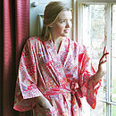 Kimono Dressing Gown Bloom Prints