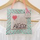 Handmade Hanging Lavender Bag