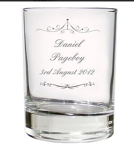 Personalised Wedding Glass - glassware