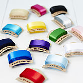 Satin Ribbon Bobbins - cards