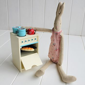 Wooden Children's Play Stove