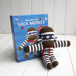 Stitch Your Own Sock Monkey