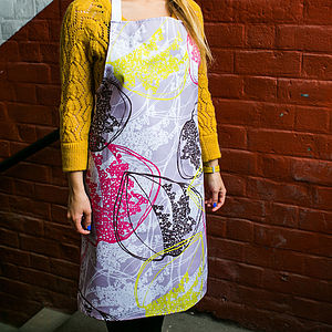 Organic Retro Leaves Apron - aprons