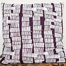 Sketchy Stems Large Cushion Cover