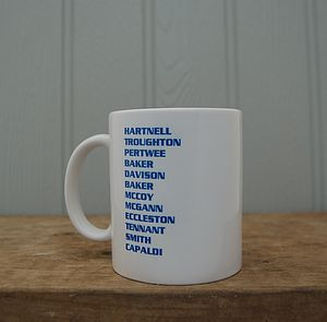 Mug For Doctor Who Fans