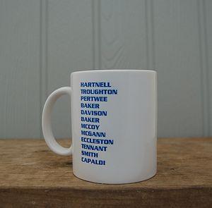Mug For Doctor Who Fans