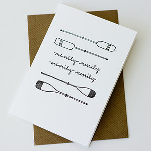 'Life Is But A Dream' Letterpress Card