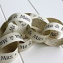 Vintage Wedding Paper Chains
