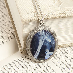 A Time For The Evening Under Starlight Locket - necklaces & pendants