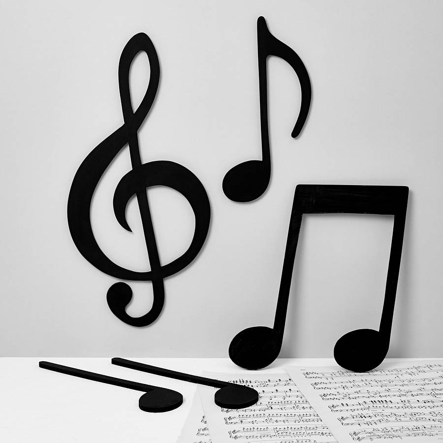 Set Of Musical Notes