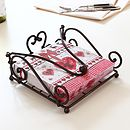 Heart Iron Napkin Holder