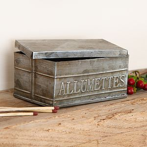 Allumettes Matches Box - fireplace accessories
