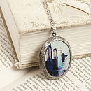 Songs Of The Sea Locket Necklace