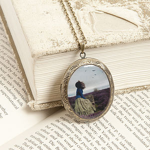 The End Of All Our Exploring Locket Necklace - women's jewellery