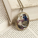 Music For Those Who Listen Locket Necklace