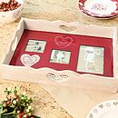 Home Sweet Home Personalised Serving Tray