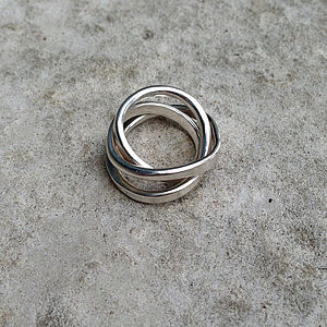 Cosmic Heavy Ring - women's jewellery