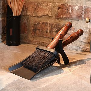 Manor Hearth Set - fireplace accessories