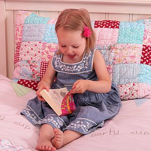 Matilda Quilted Pillowcase - bed linen