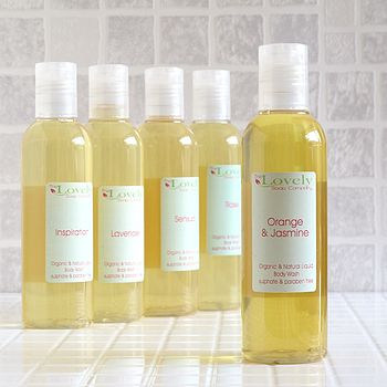 Organic Shower Gel
