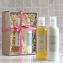 Organic Shower Gel & Lotion Gift Set