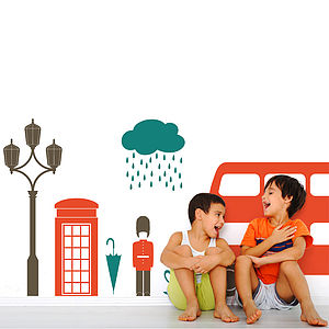 London Themed Room Wall Sticker - home accessories