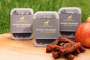 Venison Sausages For Dogs Triple Pack - food, feeding & treats