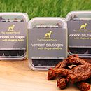 Venison Sausages For Dogs Triple Pack