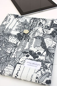 Handmade Secret Garden iPad Cover - tablet accessories