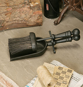 Fireside Iron Hearth Set - fireplace accessories