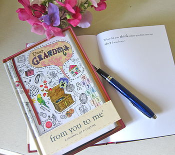 'Dear Grandma' Journal Of A Lifetime