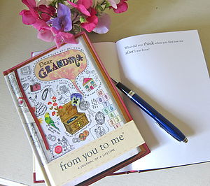 'Dear Grandma' Journal Of A Lifetime - gifts for grandparents