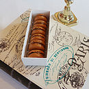 Box Of Six Chocolate Ganache French Macarons