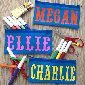 Personalised Circus Name Pencil Case - stocking fillers under £15