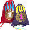Personalised Sport Gold Medal Kit Bag