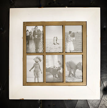 Vintage Six Multi Photo Picture Frame