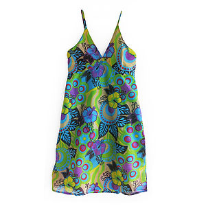 Travel Dress In Drawstring Bag In Multi Colour - dresses